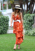 ELB0490xx.jpg-turuncu-beyaz-cicekli-kruvaze-volanli-elbise-ELB0490