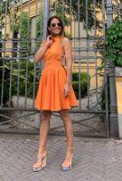 ELB0504xx.jpg-turuncu-gomlek-detay-mini-elbise-ELB0504
